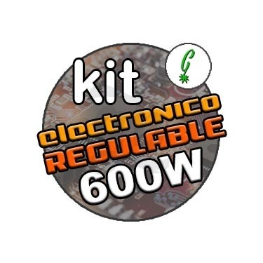 Kit iluminación balastro regulable 600w
