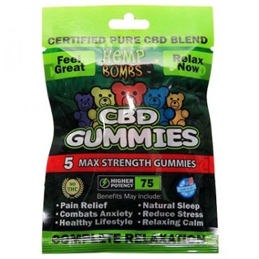 Gummy Hemp Bombs CBD