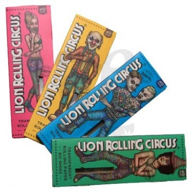 Rolling Circus Transparent King Size