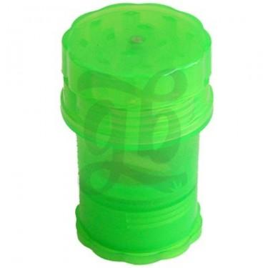 Moledor Grande de Plástico (3 Pisos + acumulador de Kief)