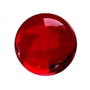Calvo Glass Ruby Pearls