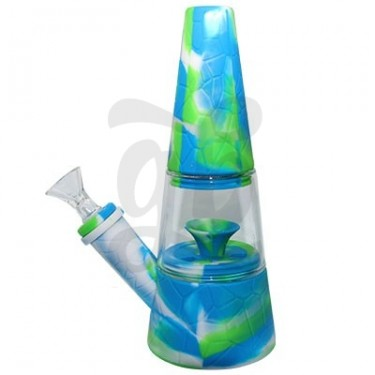 """Waxmaid 7.87"""" Fountain Silicone Glass Water"""