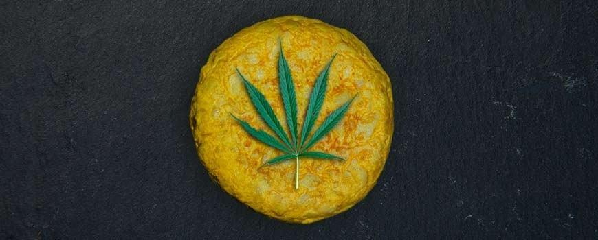 totilla de patatas con marihuana