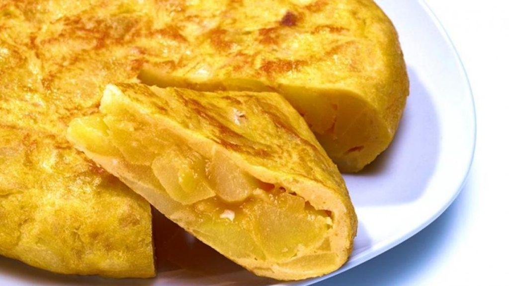 tortilla de patatas con marihuana