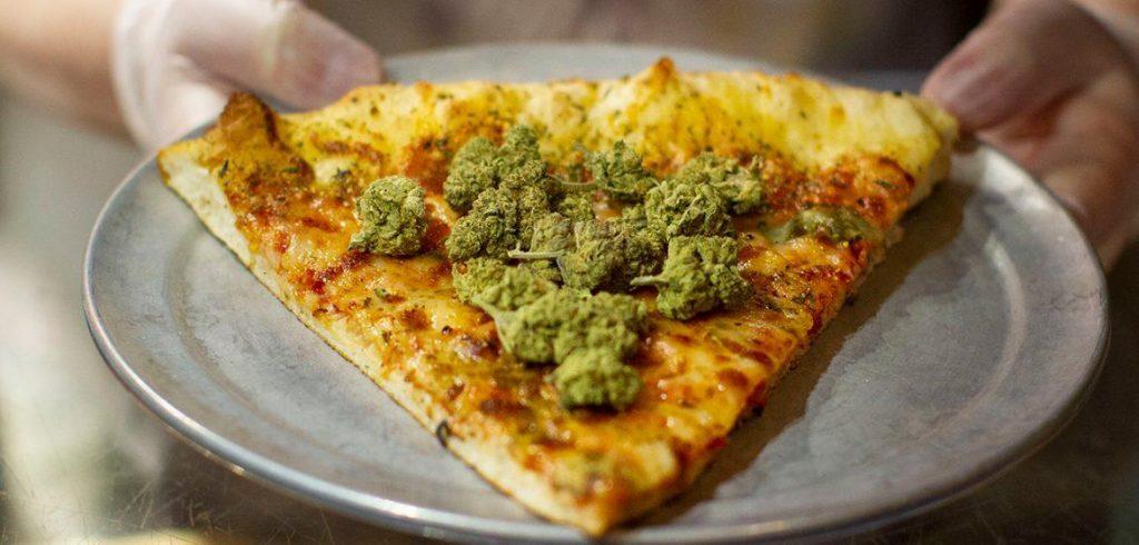 pizza cannábica