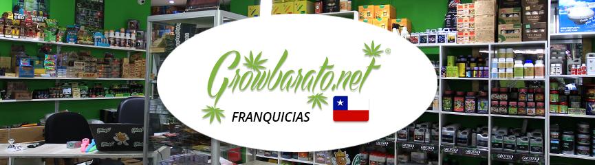 franquicia grow shop en chile